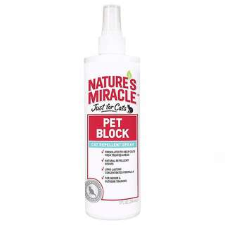 Nature's Miracle Just for Cats Pet Block Repellent Spray