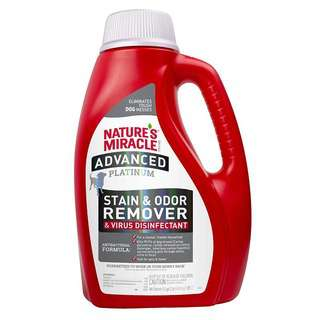 Nature's Miracle Stain Odor Remover & Virus Disinfectant -Dog