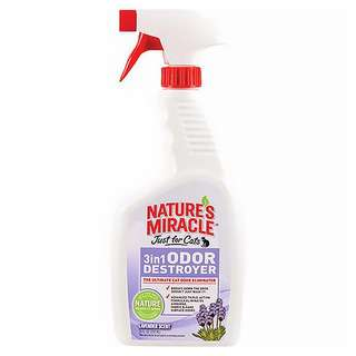 Nature's Miracle 3in1 Odor Destroyer for Cats (Lavender)