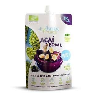 Authentic Fruits Organic Acai Bowl