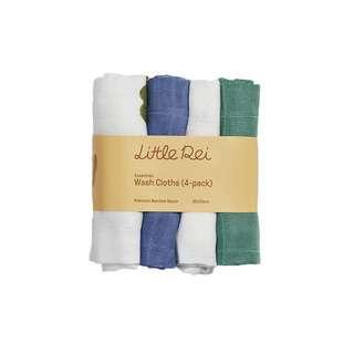 Little Rei Bamboo Muslin Wash Cloth