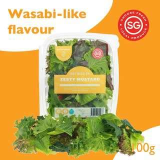 Just Produce Just Mesclun: Zesty Mustard