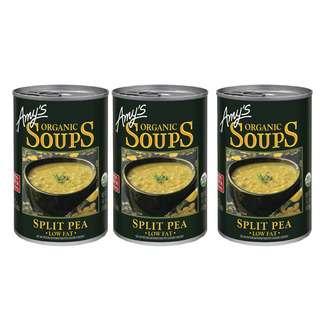Amy's Kitchen Organic Soup Split Pea Low Fat