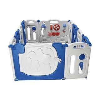 BeBespace Lil Elephant Foldable Play Yard 12 Panels
