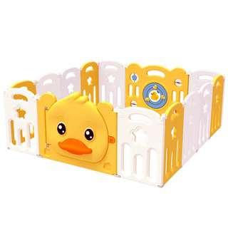 BeBespace Ducky Foldable Play Yard 12 Panels