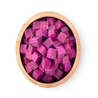 Smart Knife Ready to Cook Purple Sweet Potato Diced