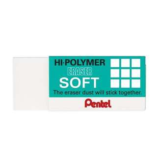 Pentel Hi-Polymer Medium Soft Eraser ZES05