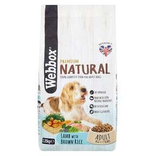Webbox Lamb & Brown Rice Adult Dog Dry Food
