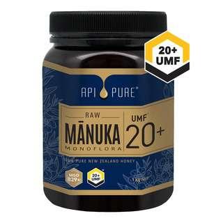 ApiPure Raw Manuka UMF 20+
