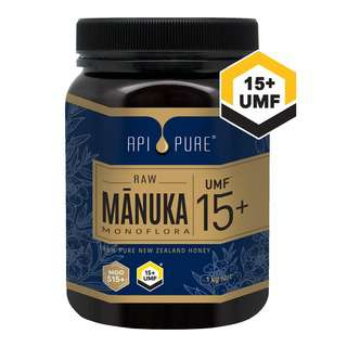 ApiPure Raw Manuka UMF 15+