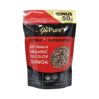 ApiPure Organic Tricolour Quinoa