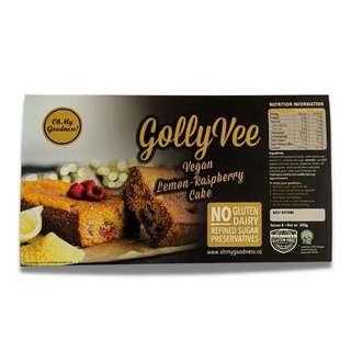 Oh My Goodness! Vegan Lemon Raspberry Cake Loaf Gluten-Free