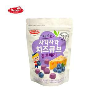 Bebest Baby Snack Freeze - Dried Cheese Cube - Blueberry