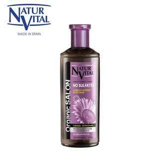 Naturvital Organic Salon No Sulfates Colour Protect Shampoo