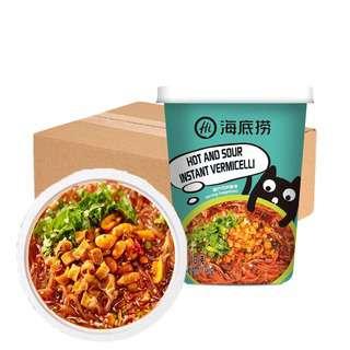 Hai Di Lao Instant Vermicelli - Hot and Sour Soup (Carton)