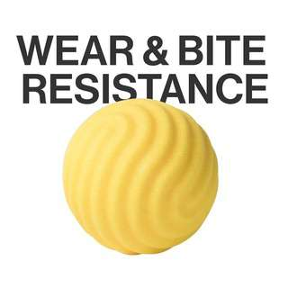 Pidan Wave Toy Ball Yellow