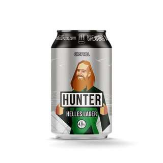 Gipsy Hill Craft Beer Hunter Helles Lager
