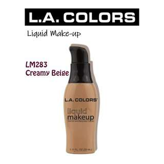 La Colors Liquid Make-up - Creamy Beige