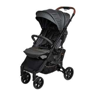 Bonbijou Bonbijou Lux Stroller (Dark Pebble Grey)
