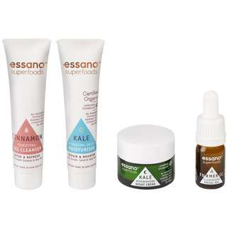 Essano SUPERFOODS - FEED YOUR SKIN TRIAL PACK 4S