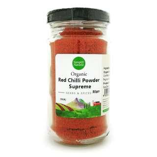 Simply Natural Organic Red Chilli Powder (Supreme)