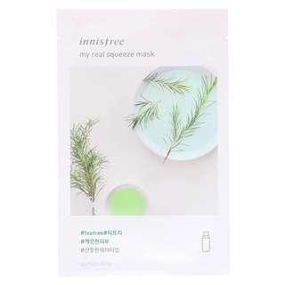 Innisfree My Real Squeeze Mask EX - Tea Tree