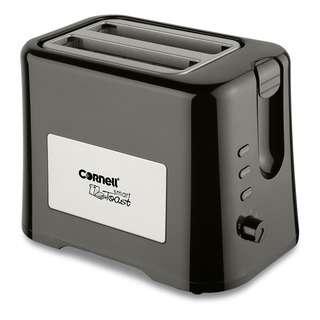 Cornell 2 Slice Pop Up Bread Toaster 870W CT-EDC2000BK
