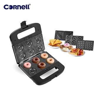 Cornell Cornell 3-in-1 Snack Maker Non-Stick Coating Plate
