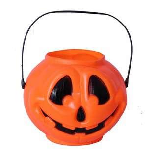 Partyforte Halloween 18CM Round Pumpkin Bucket