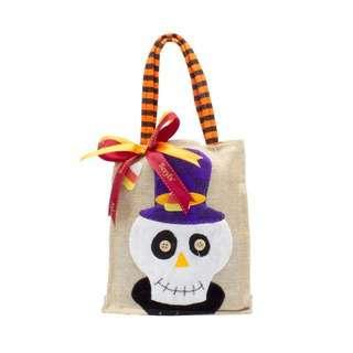 Beryl's Assorted Choc Mini Tote Halloween Canvas Bag (P+W