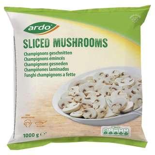 Ardo Sliced mushrooms