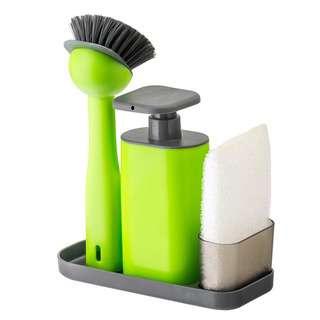 Vigar Rengo Green Sink Side Set W/Soap Dispenser