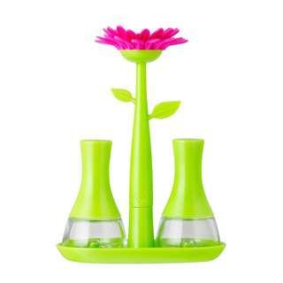 Vigar Flower Power Green Salt&Pepper Set