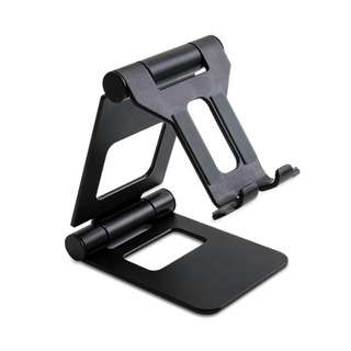 GadgetMix Zj008 Phone Tablet Foldable Table Stand - Black