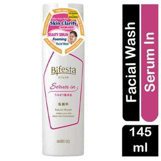 Bifesta Serum In Facial Wash for Clean & Moisturised Skin