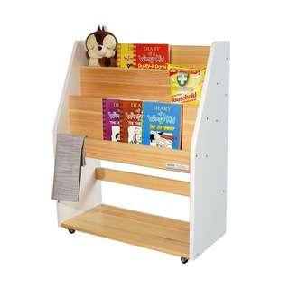 HOUZE TOCAR Multipurpose Bookshelf - White