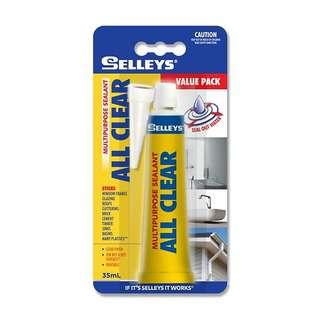 Selleys All Clear Multipurpose Sealant