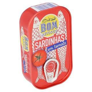 Bom Petisco Whole Sardines In Tomato Sauce