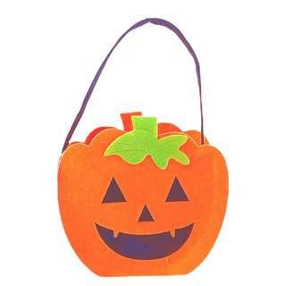 Partyforte Halloween Non-woven Felt Bag-Pumpkin Stem