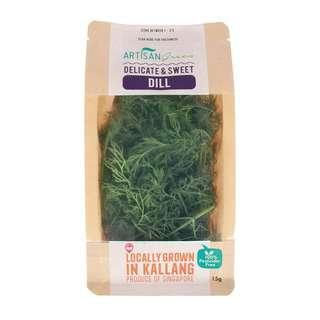 Artisan Green Fresh Dill Herbs