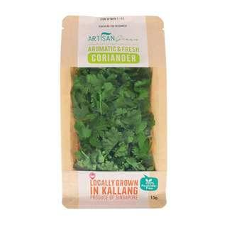 Artisan Green Fresh Coriander Herbs