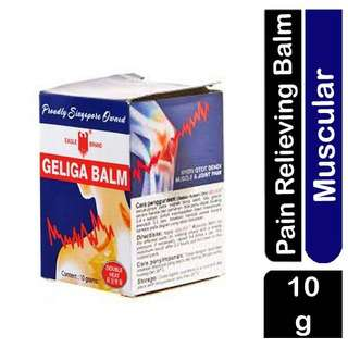 Eagle Brand Geliga Balm- Pain Reliver- Double Heating Formula