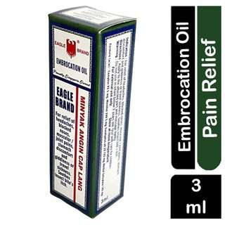 Eagle Brand Embrocation Oil-Refief of Headaches & Muscle Pain