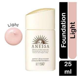 ANESSA Perfect UV Sunscreen BB Foundation - Light