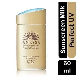 ANESSA Perfect UV Sunscreen Skincare Milk  - SPF 50+ PA++++