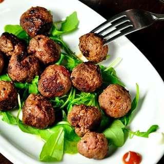 Green Meadows Beef & Beetroot Meatballs