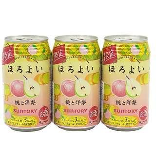 Suntory Horoyoi Peach & Pear Chu-Hi Cans
