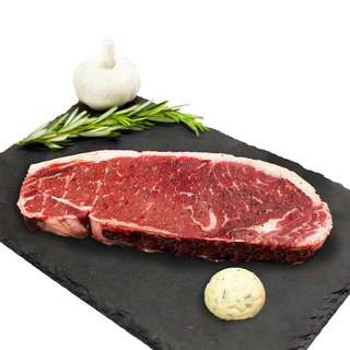 Hego US Beef Striploin with Garlic Herb Butter