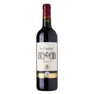 Je T'Aime Vin De France Merlot