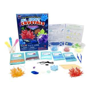 Play N Learn STEM Science Kit All About Crystals for Kids